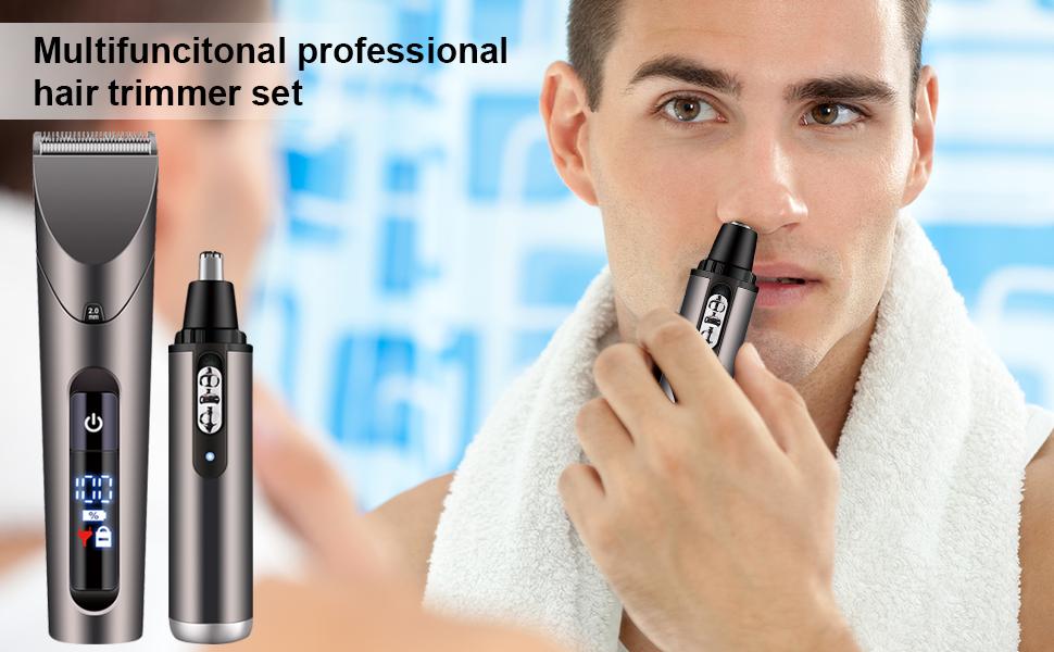 Multifunctional professional hair trimmer set