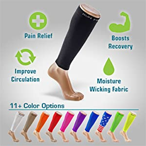 calf compression sleeve shin splint splints relief pain muscle run leg men women maternity athlete