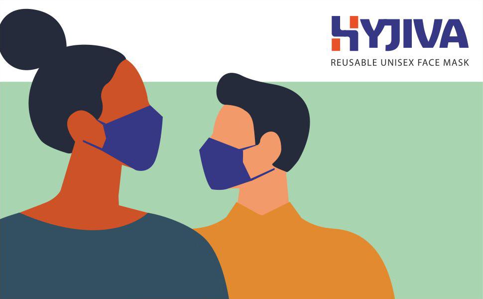 Hyjiva Reusable Unisex Face Mask