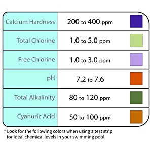 Maintain proper water chemistry of your pool water including pH alkaline content and calcium levels