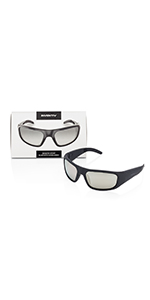 silver reflective lenses bluetooth sunglasses for music listening inventiv