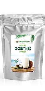 coconut milk powder bulk size 5 lb