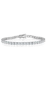 white gold bracelet,tennis bracelet,bracelet for women,cubic zirconia bracelet,men tennis bracelet