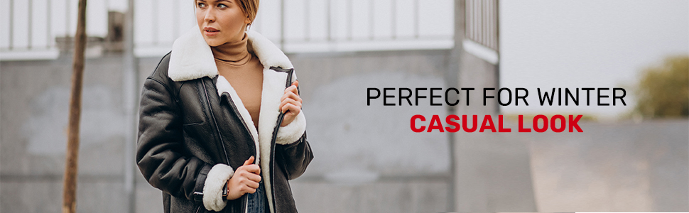Perfect for Winter Casual Look