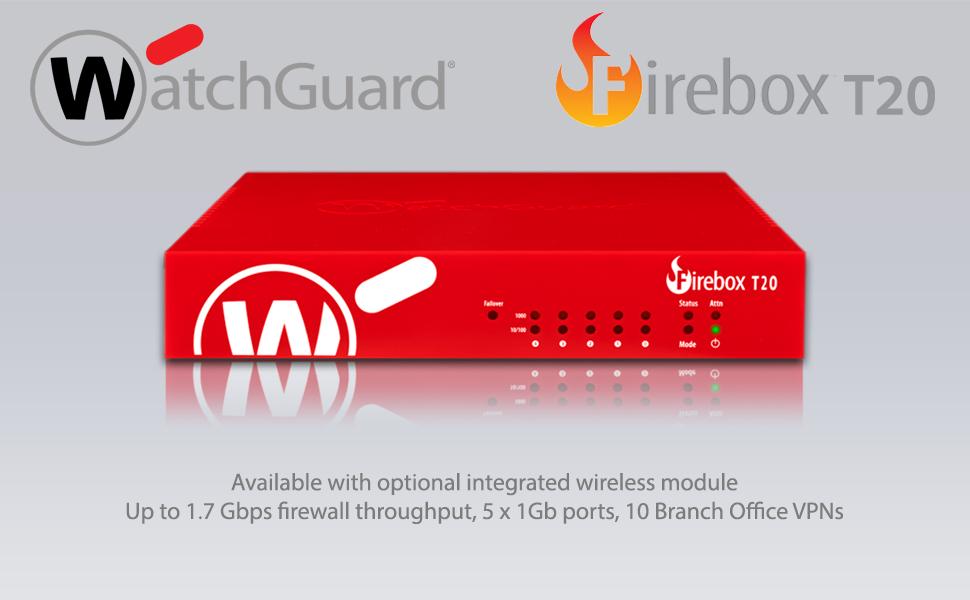 Watchguard Firebox T20