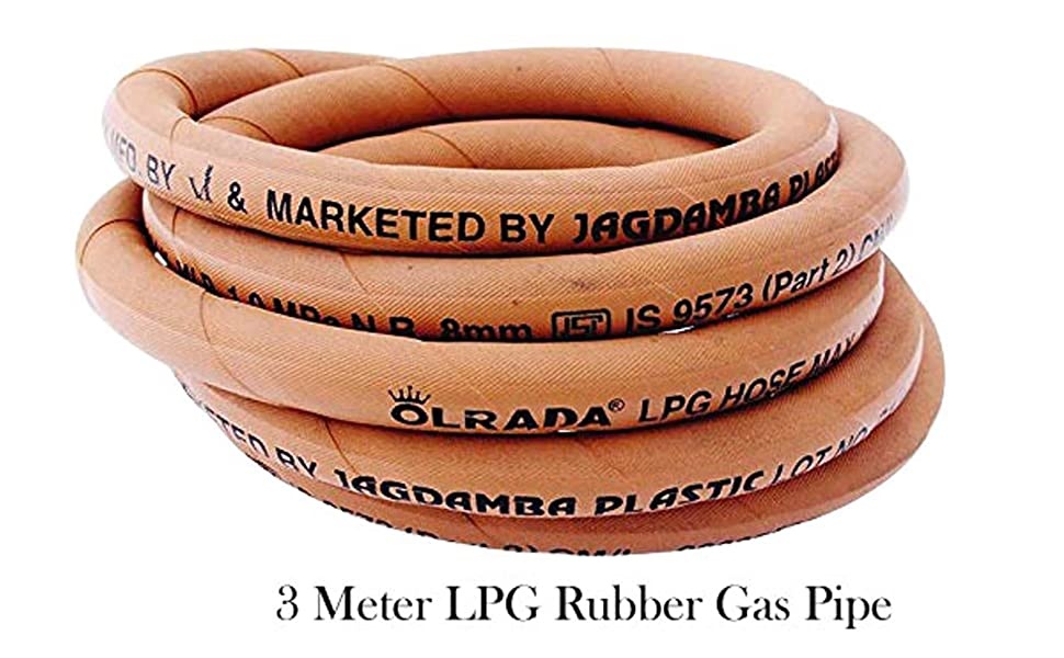 LPG Rubber Gas Pipe