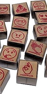 stampmojis individual emoji stamps poo dork angry