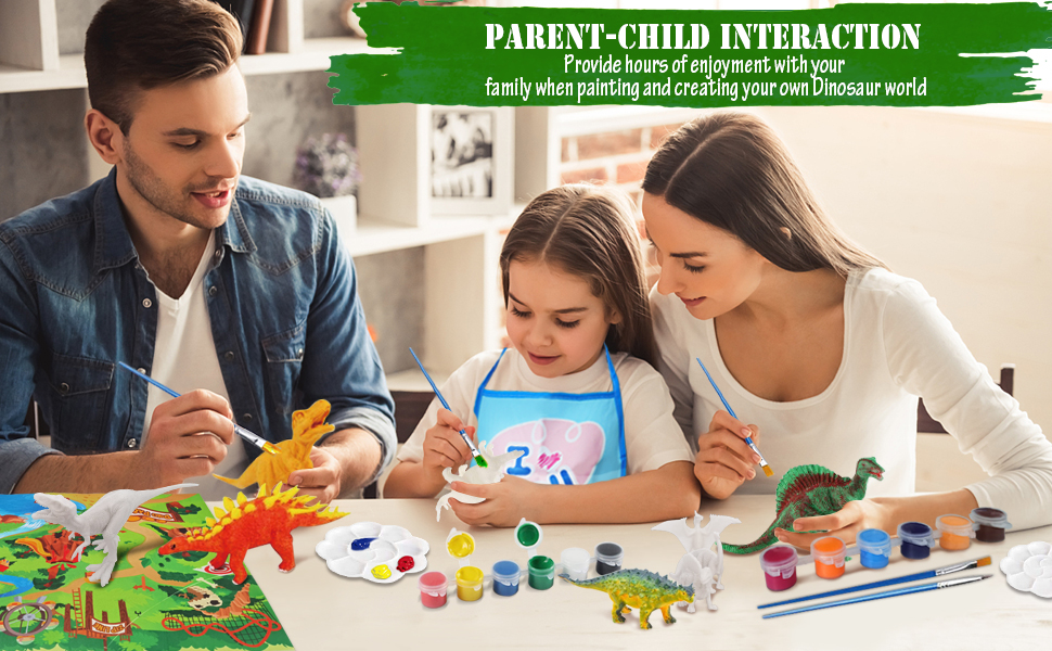 painting dinosaur painting toys art and crafts toys for 3 4 5 6 7 8 year old boys girls