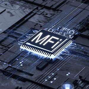MFi-certifed built in original Apple Chip