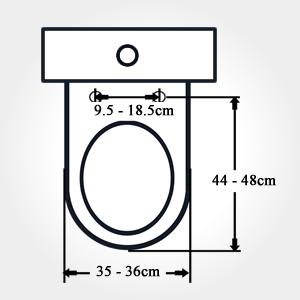 easy install toilet seat