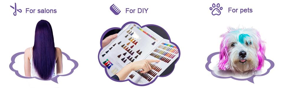Hair Coloring Dyeing Kit