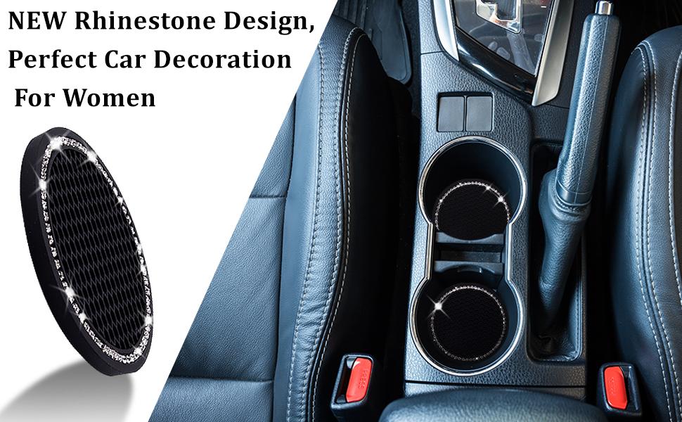 NEW rhinestone design, Perfect car decoration for women