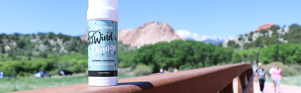wind of change, magnesium fortified, fresh underarms, odor control