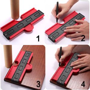 Measuring Tool for  tile, laminate, engineered wood, solid wood and vinyl flooring