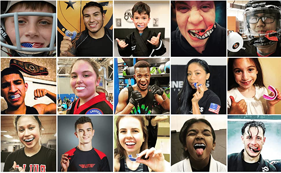 oral mart sports mouth guard youth kids adult karate football bjj mma muay thai oss boxing