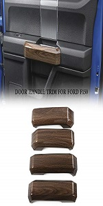 Inner Door Grab Handle Trim Cover for 2015 2016 2017 2018 Ford F150