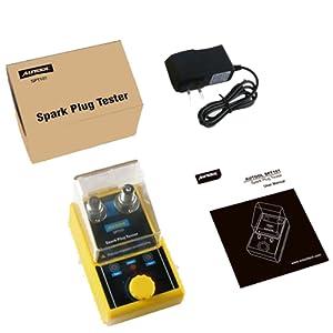 Spark Plug Tester in-Line Coil Engine Coil Tester Diagnostic Tool 6-12 V