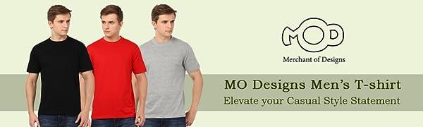 Merchant of Designs Round Neck t-shirt for men