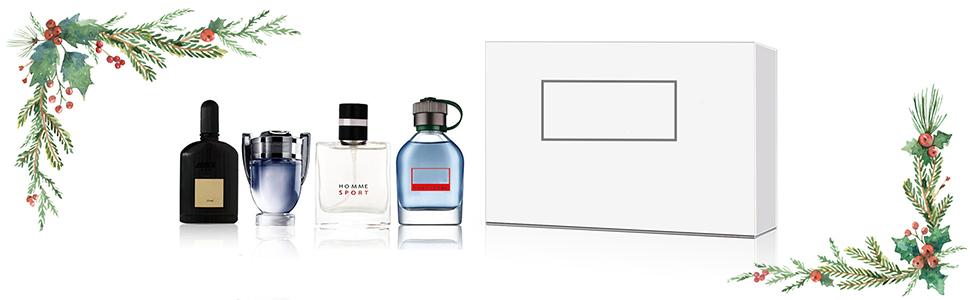 Profumo uomo, Profumi uomo offerte, 4 tipi di diversi uomini profumo di Colonia, profumo uomo Colonia profumo set regalo di ringraziamento di Natale