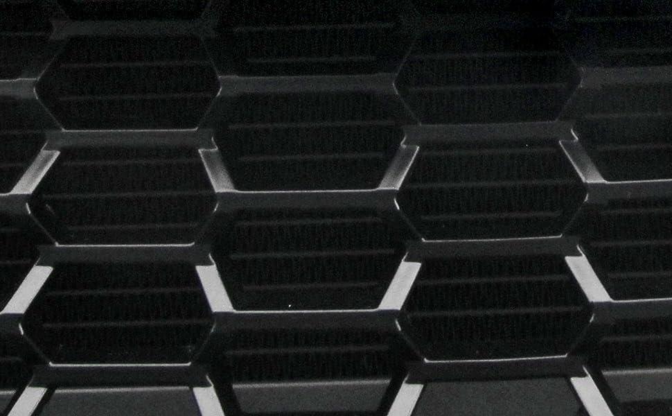 Noir JOM 6320032OE JOM calandre de radiateur sans Sigle Compatible avec Opel Corsa D 07- Qualit/é Allemande