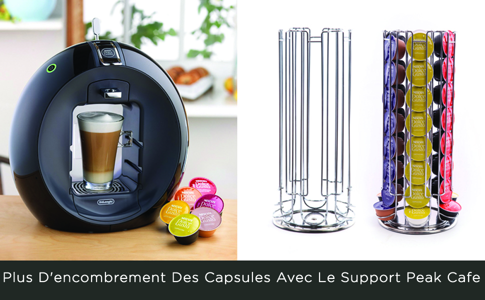 Eillybird Support rotatif pour 48 capsules Dolce Gusto