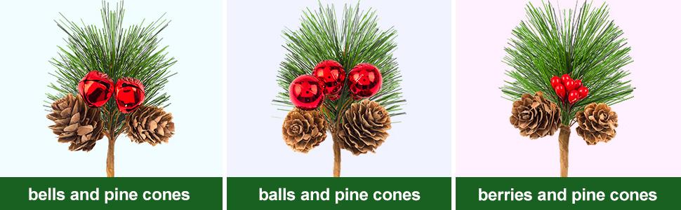 Artificial Pine Picks Christmas Pine Needles