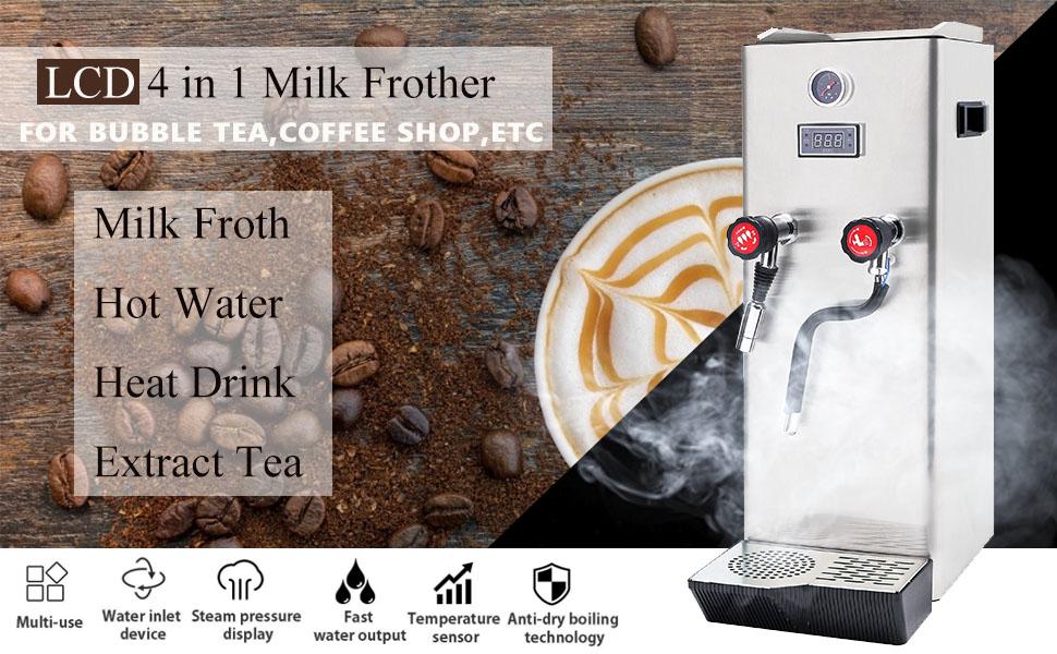 Steam milk frother