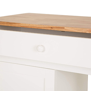 Wooden Cart with Drawer