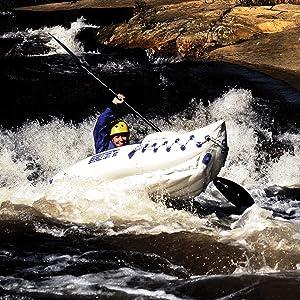 Inflatable Kayak, Sport Kayak, Tandem Kayak, Solo Kayak, Sea Eagle, 330, Kayak