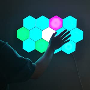 hexagon lights