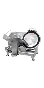 All Metal Collection 12 inch slicer with teflon blade