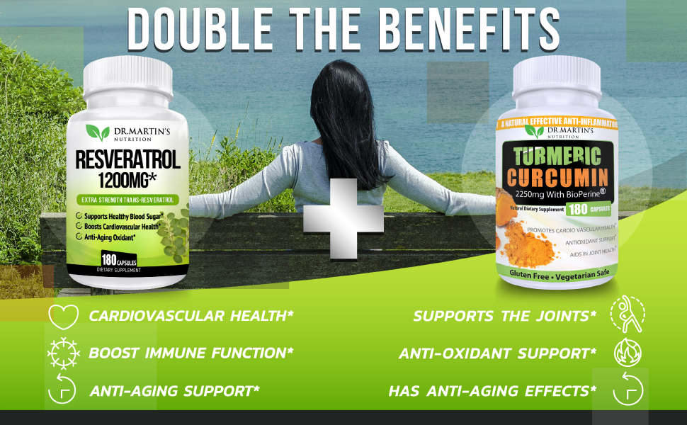 Dr.Martin's Nutrition; Resveratrol; Supplement; Wellbeing; Concentration; Fitness, Health