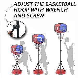 More stable basketball stand
