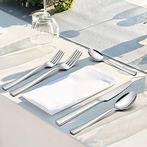 Stainless Steel Silverware Set