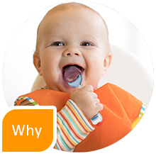 why positive reinforcement gootensils numnum baby led weaning blw