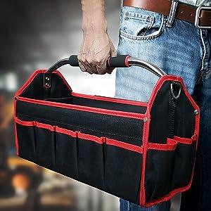 Barely Functioning Human Tote Bag Long Handles TB1804