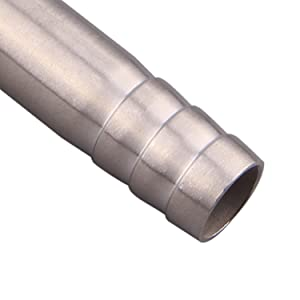 Barb fittings for hose connection