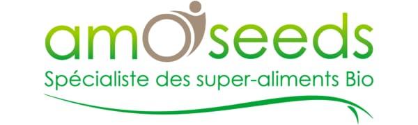 amOseeds Le Spécialiste des Super-Aliments Bio Logo