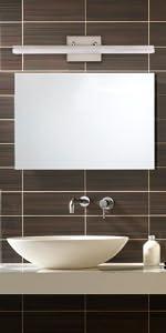 Modern LED Vanity Light for Bathroom Lighting Dimmable