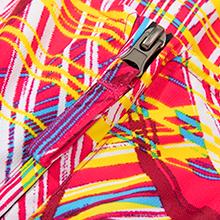 Stable zipper