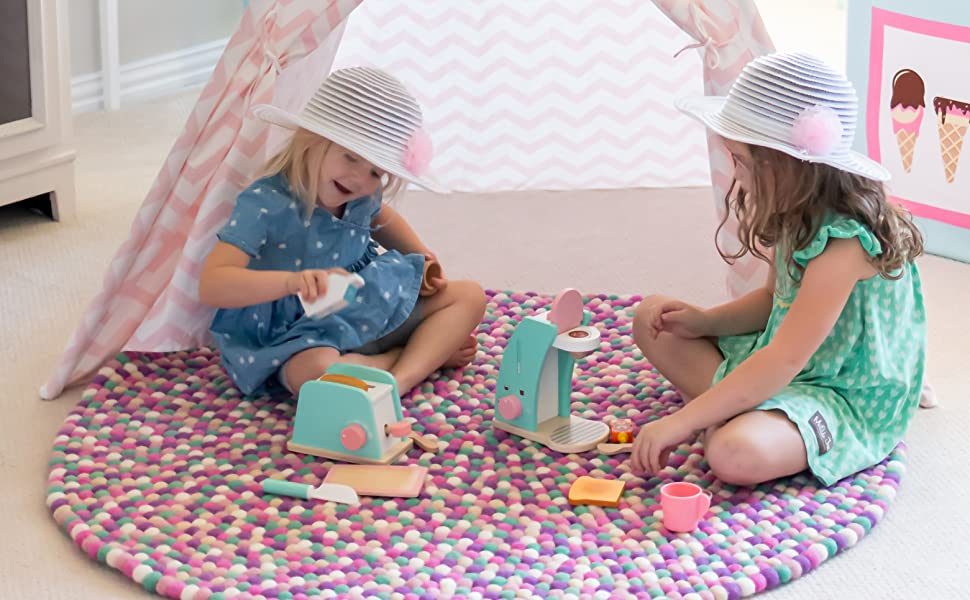 Interactive Toy Pop-Up Toaster for Kids