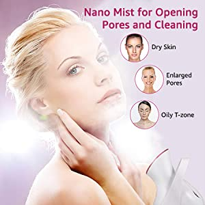 face steamer for facial deep cleaning