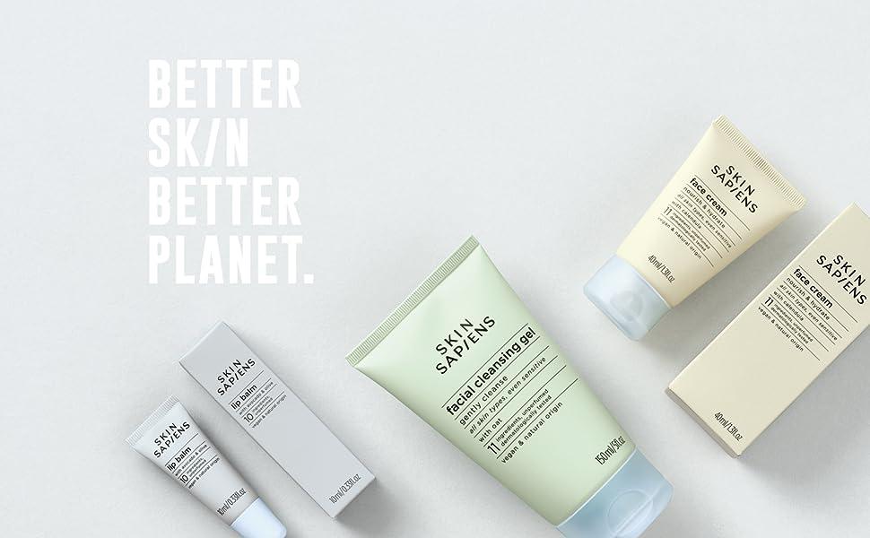 adult face skincare, better skin, better planet