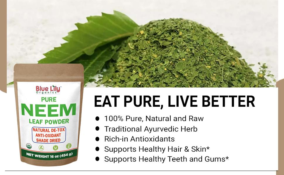 Neem Leaf Powder 16 oz