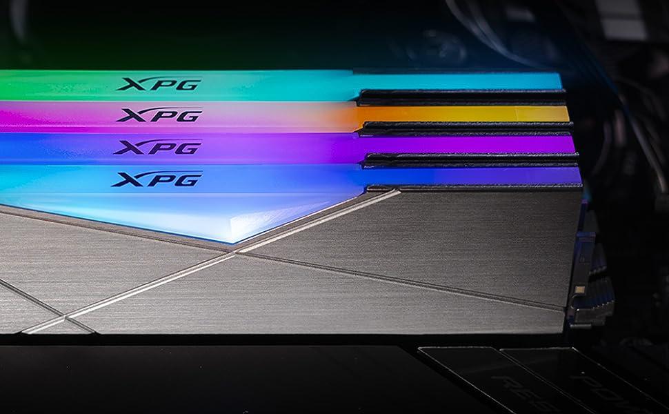Amazon.com: XPG SPECTRIX D50 RGB Gaming Memory: 16GB (2x8GB) DDR4 3200MHz CL16 Gris : Electrónica