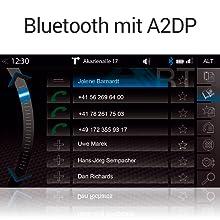 Zenec Z-N528: Autoradio mit Bluetooth für Telefonieren / Freispechen und Musik streamen