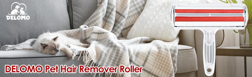 delomo pet hair remover roller