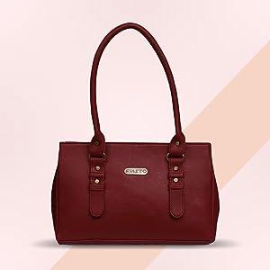 Fristo Red Women Handbag
