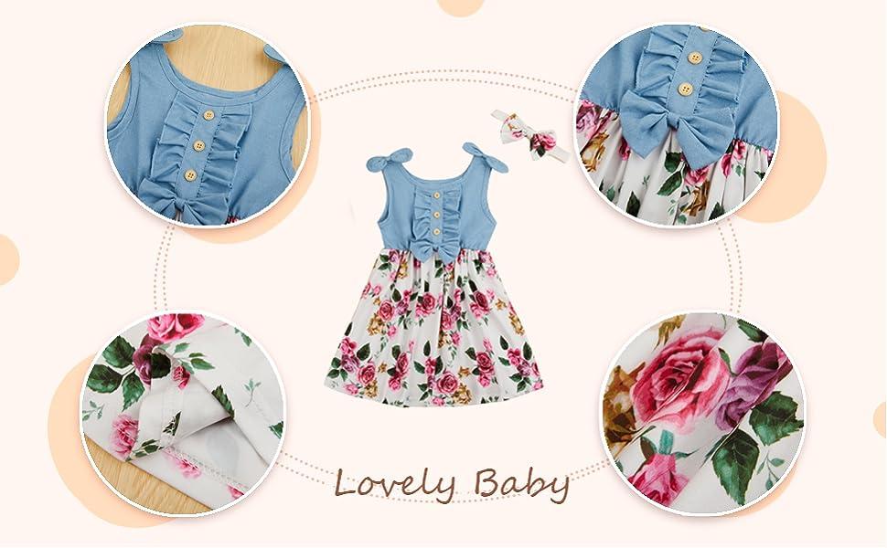 Toddler Baby Summer Beach Dress