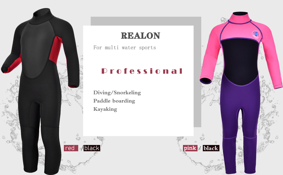REALON Thermal Swimsuit For Kids